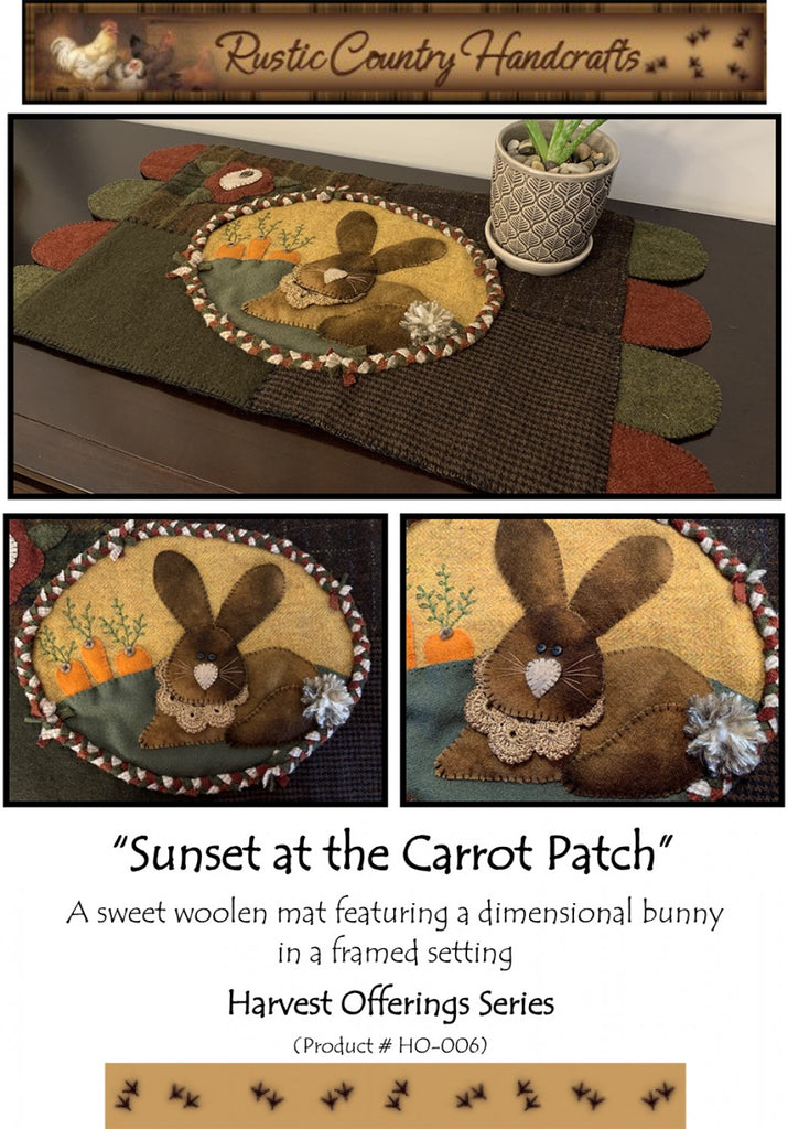 Sunset at the Carrot Patch