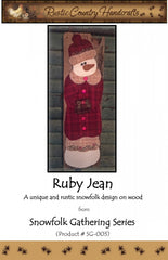 Ruby Jean Wool Applique