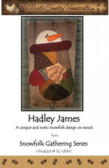 Hadley James Wool Applique
