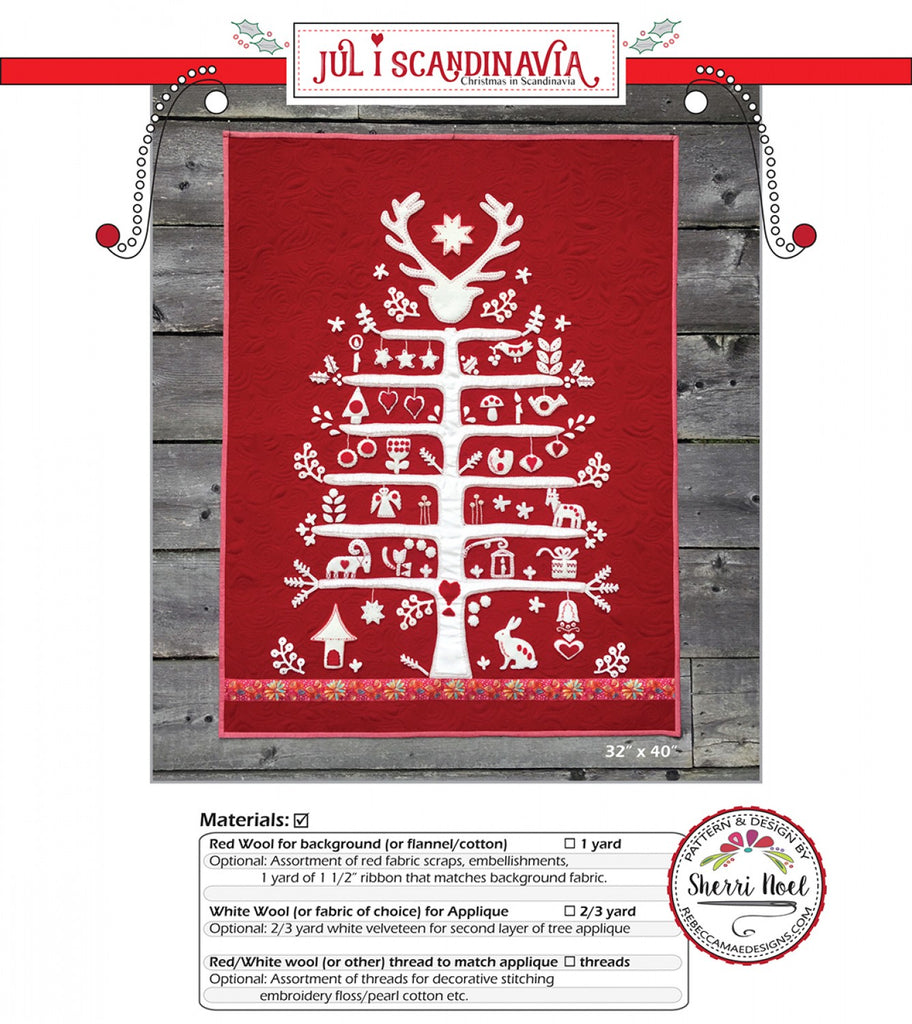 Jul I Scandanavia Pattern