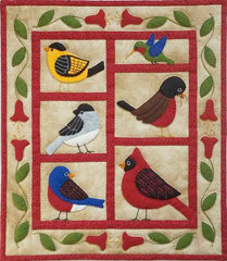Backyard Birds Wall Quilt Pattern