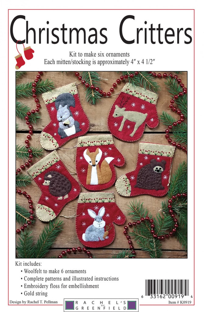 Christmas Critters Pattern