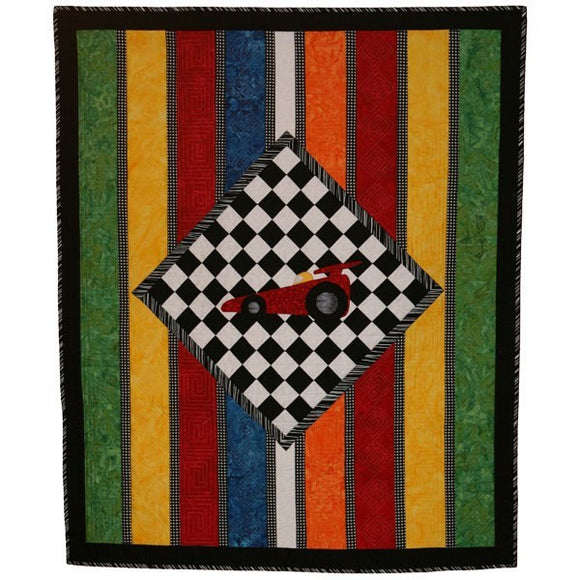 The Race Car Quilt