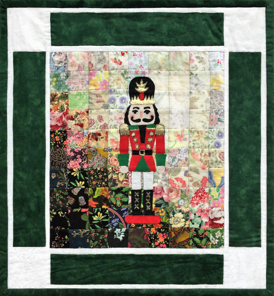 """Rachel's Christmas Cards"" Block #10 The Nutcracker"