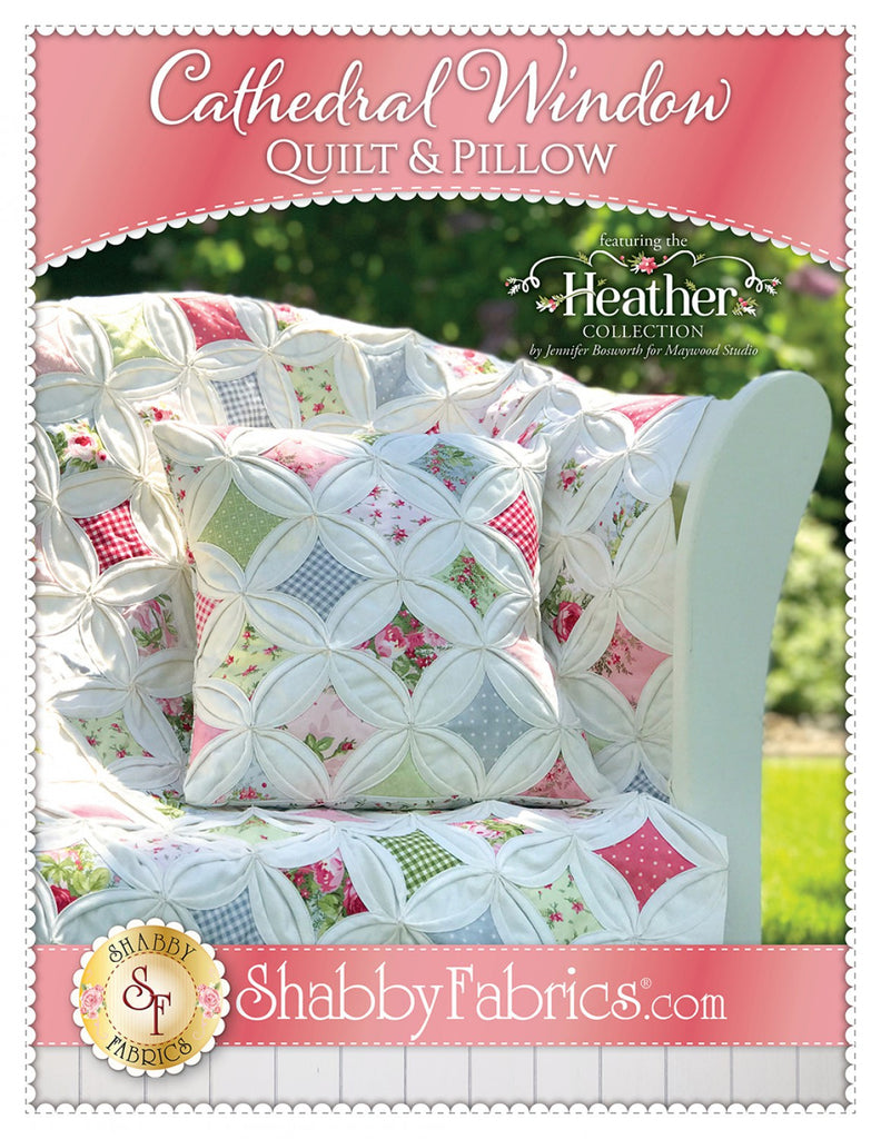 Cathedral Window Quilt Pillow Quilting Books Patterns And Notions