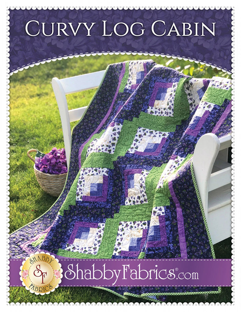 Curvy Log Cabin Quilting Books Patterns And Notions