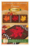 Patchwork Accent Runner Leaves November