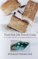 Essential Oils Travel Case Sewing Pattern