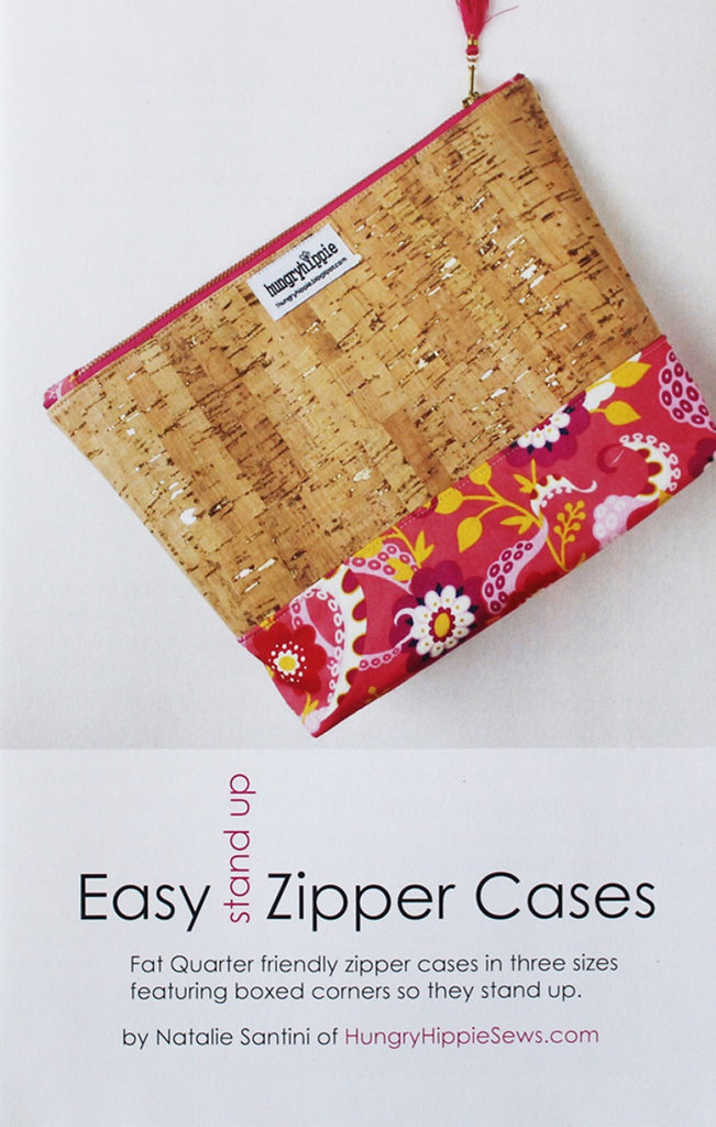 Easy Zipper Cases Sewing Pattern