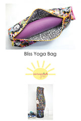 Bliss Yoga Bag Sewing Pattern