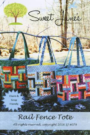 Rail Fence Tote