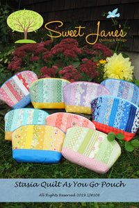 Stasia Quilt As You Go Pouch