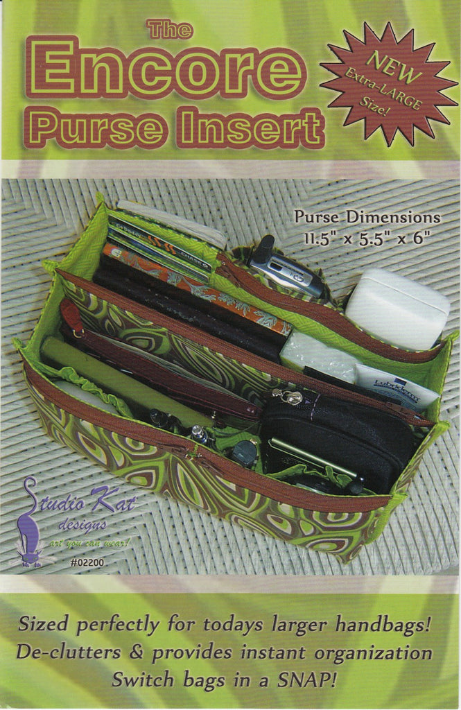 The Encore Purse Insert
