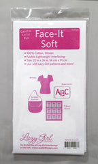 Lazy Girl Face It Soft Fusible Interfacing 22in x 36in