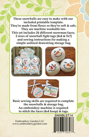 image about Printable Rice Bag Instructions identified as Snowman Snowball Fixed