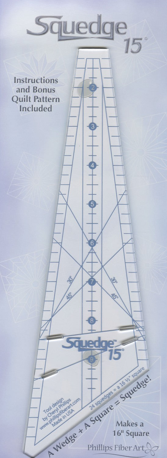 15 Degree Squedge Ruler