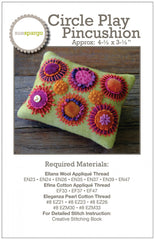 Circle Play Pincushion Pattern