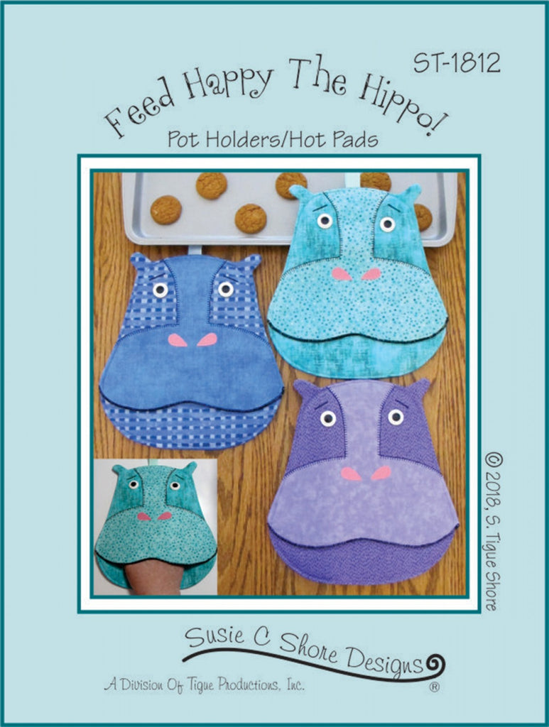 Feed Happy the Hippo – Quilting Books Patterns and Notions