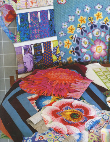 Kaffe Fassetts Bold Blooms Quilting Books Patterns And Notions