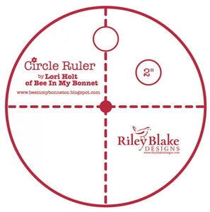 Lori Holt Circle Ruler 2in