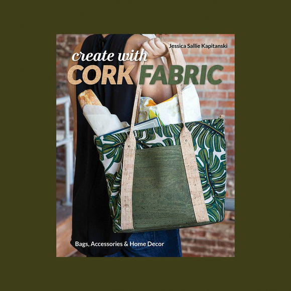 Create with Cork Fabric Kit Gunmetal