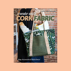 Create with Cork Fabric Kit Rose Gold