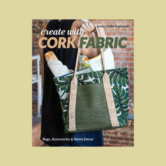 Create with Cork Fabric Kit Gold