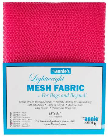 Mesh Lite Weight 18in x 54in - 7 Colors