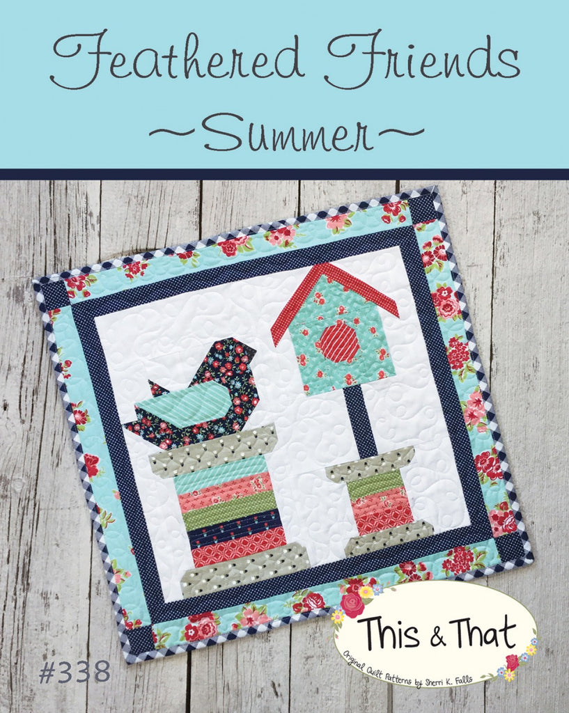 FEATHERED FRIENDS SAMPLER-CROSS STITCH-CITY STITCHER