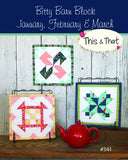 Bitty Barn Blocks January March