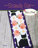 Scaredy Cat Table Runner