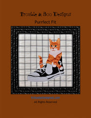 Purr-fect Neigh-bors Horse Cat Fusible Applique Trouble /& Boo Quilt Pattern