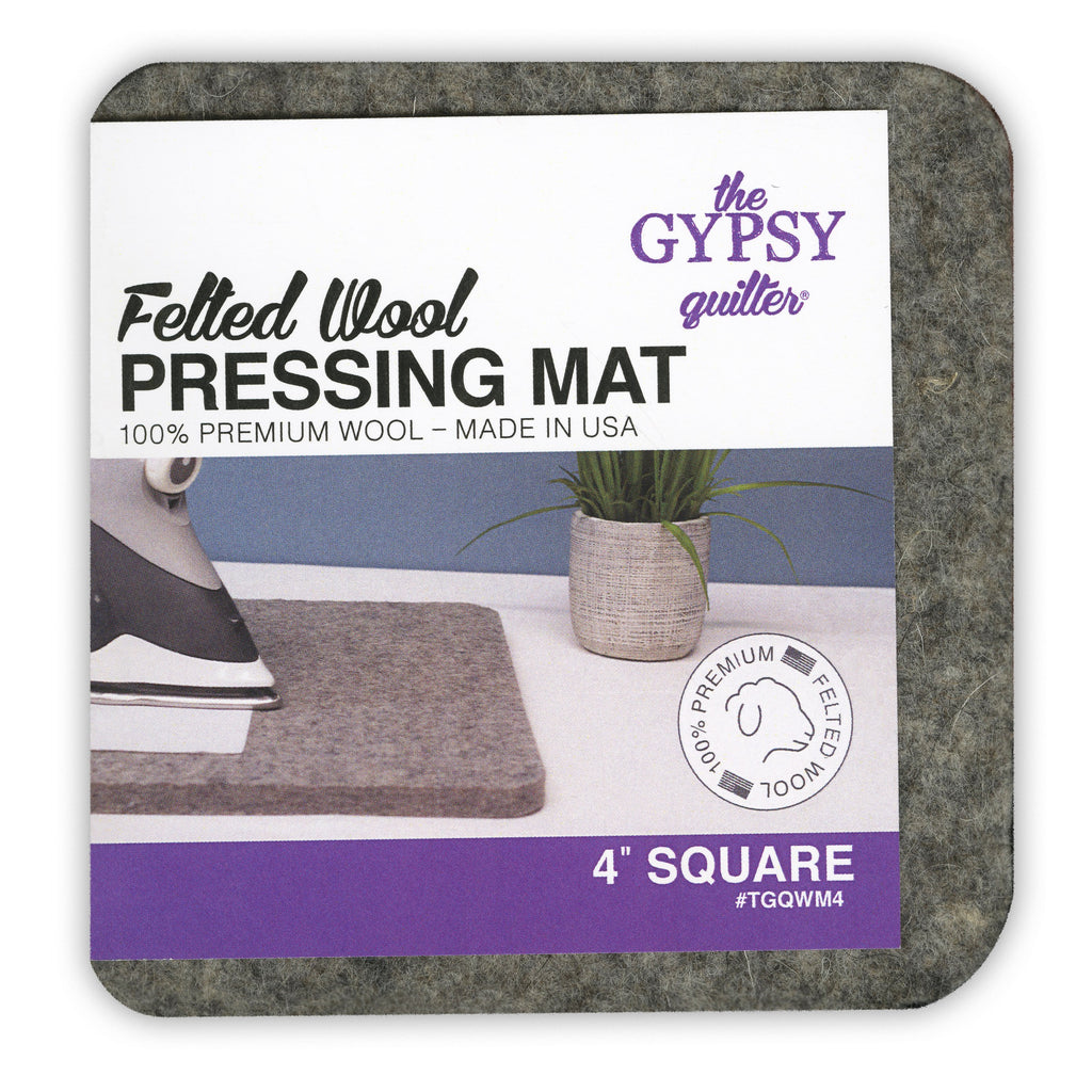 Wool Pressing Mat 4in x 4in