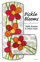 Pickle Blooms Table Runner & Placemats
