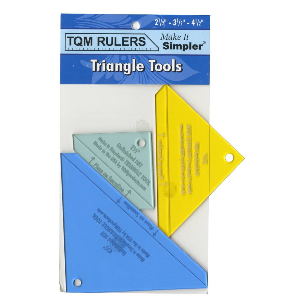 Triangle Tool 2-1/2in 3-1/2in and 4-1/2in