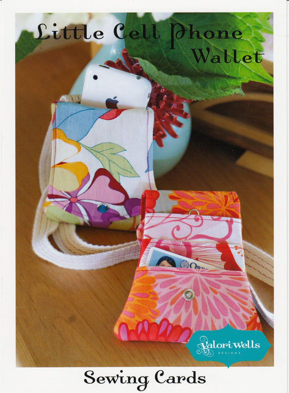 Sewing Card - Little Cell Phone Wallet