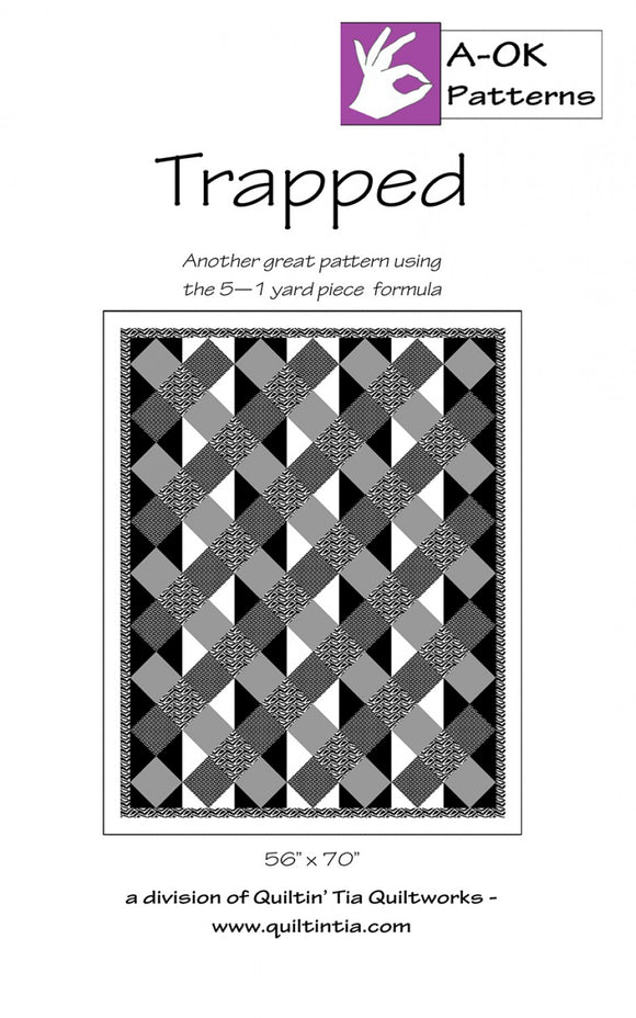 Trapped - A-OK 5 Yard Pattern