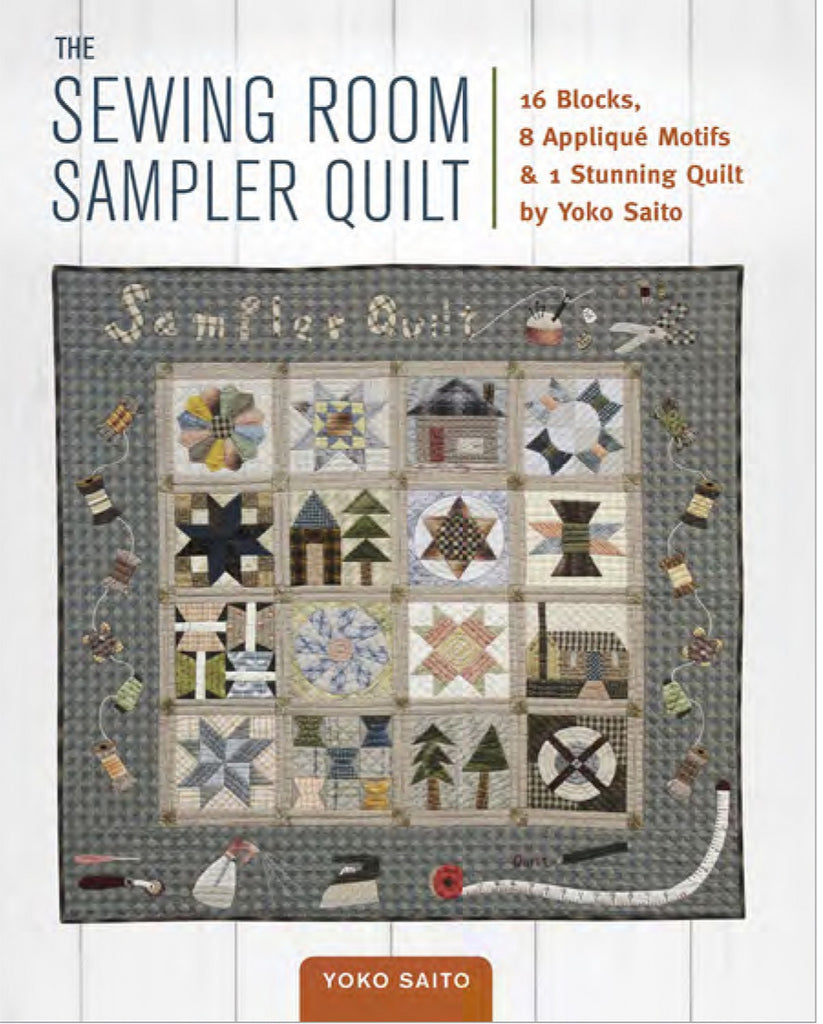 Sewing Room Sampler Quilt – Quilting Books Patterns and Notions