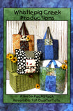 Six Pack Stack Reversible Fat Quarter Tote