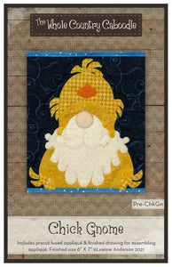Chick Gnome Precut Fused Applique Pack