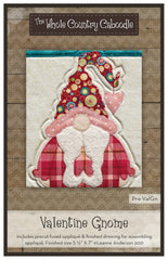 Valentine Gnome Precut Fused Applique Pack