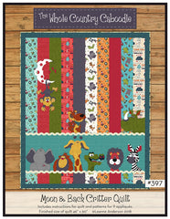 Moon and Back Critter Quilt