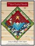 Away in a Manger Table Topper Pattern