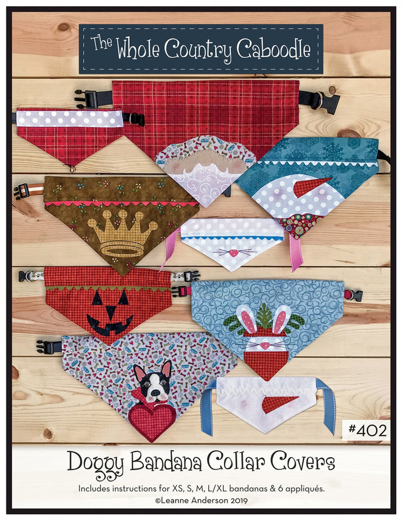 Doggy Bandana Collar Covers
