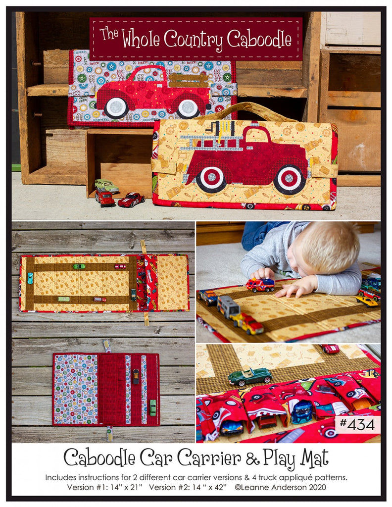Caboodle Car Caddy Pattern