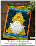 Chick Gnome Mug Rug Kit