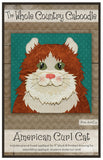 American Curl Cat Precut Fused Applique Pack