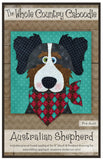 Australian Shepherd Precut Fused Applique Pack
