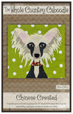 Chinese Crested Precut Fused Applique Pack