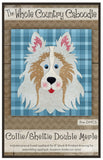 Collie/Sheltie Double Merle Precut Fused Applique Pack